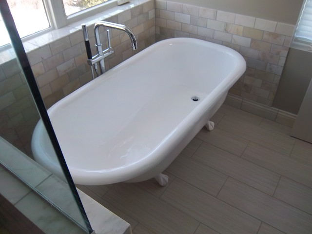 Refinish Clawfoot Tub For Bathroom Remodel Project