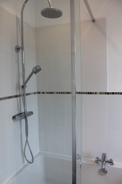 Refurbishment of 1930s semi traditional bathroom for Bathroom ideas 1930s semi