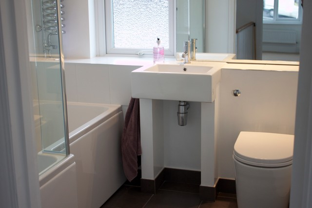 Refurbishment of 1930s semi modern bathroom other for 1930 s bathroom decor