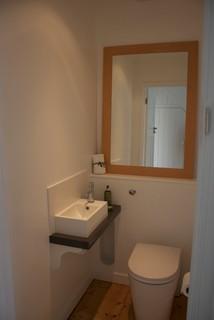 Refurbishment of 1930s semi modern bathroom south for Bathroom ideas 1930s semi