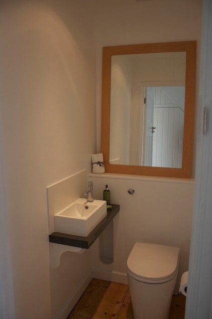 refurbishment of 1930s semi modern bathroom