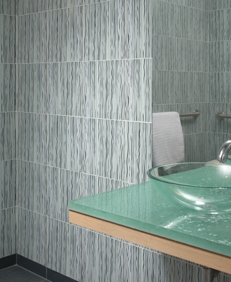 Regalia glass tile contemporary bathroom by - Recycled glass tiles bathroom ...
