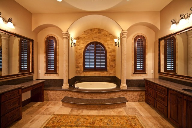 24 Mediterranean Bathroom Ideas: Mediterranean