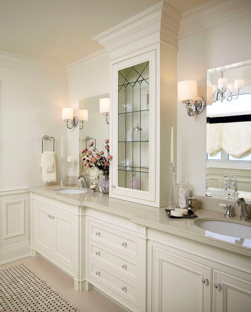 Regina sturrock design classicism with a twist for Small bathroom design houzz