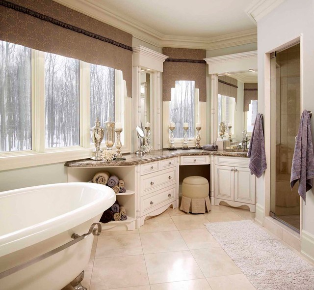 Regina Sturrock Design Inc Beau Reve Beautiful Dream Traditional Bathroom Toronto By