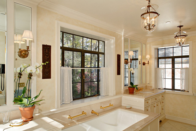 REGINALD L. THOMAS ARCHITECT, LLC traditional-bathroom