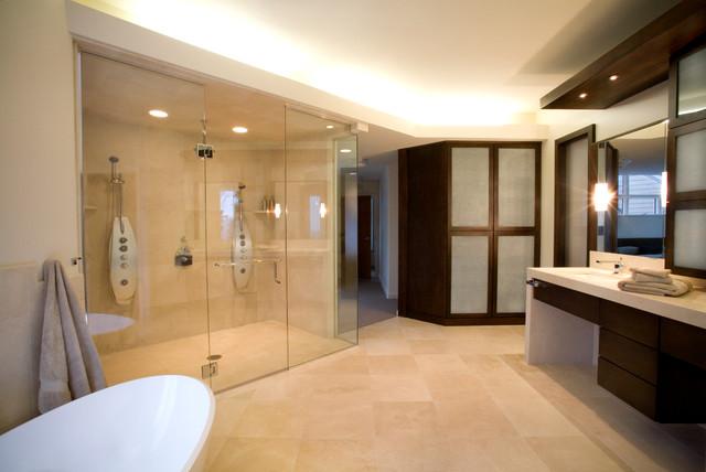 Reid House contemporary-bathroom