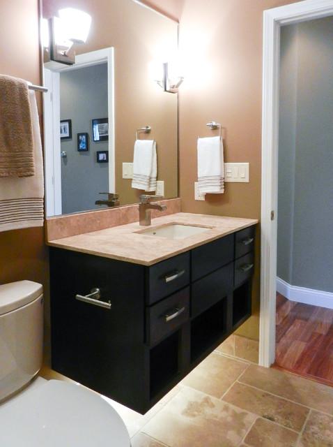 Rejuvenated 5 x 9 bathroom traditional bathroom for 9x5 bathroom ideas