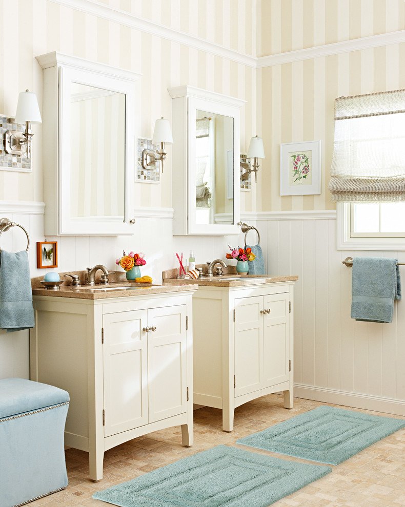 Inspiration for a timeless bathroom remodel in Charlotte