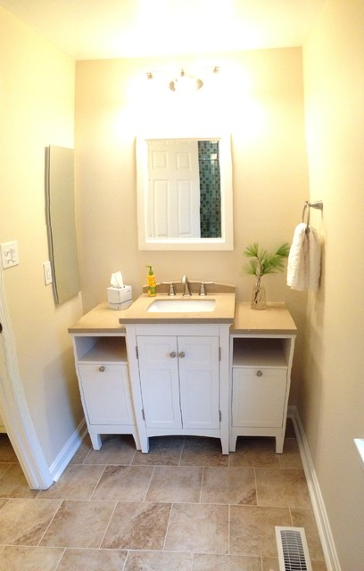 Relaxing master bath modern bathroom baltimore by lowe 39 s of timonium md - Extraordinary and relaxing contemporary bathroom designs ...
