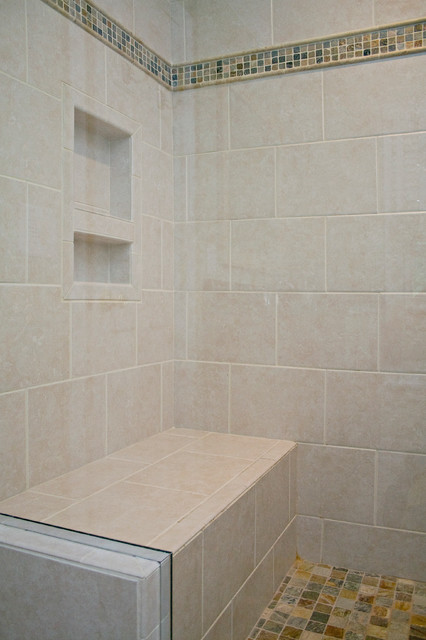 ... Bathroom with Natural Accents - Traditional - Bathroom - raleigh - by
