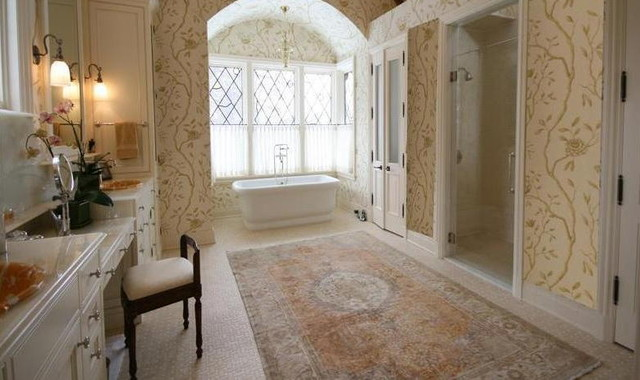 Relaxing Tub traditional-bathroom