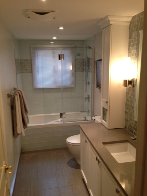 Remodel 1960 39 S Duplex Traditional Bathroom Montreal By Art Interiors