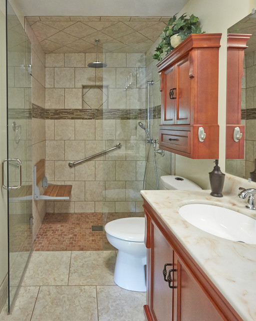 Remodeled bathroom bathroom other metro by senior remodeling experts Small bathroom remodel for elderly