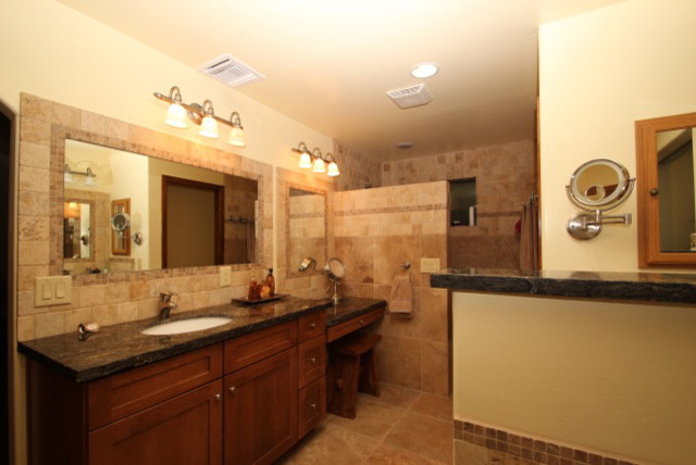 Remodeled bathrooms by cook remodeling for Remodeled bathrooms