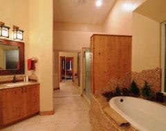 Remodeled Bathrooms by Cook Remodeling rustic-bathroom