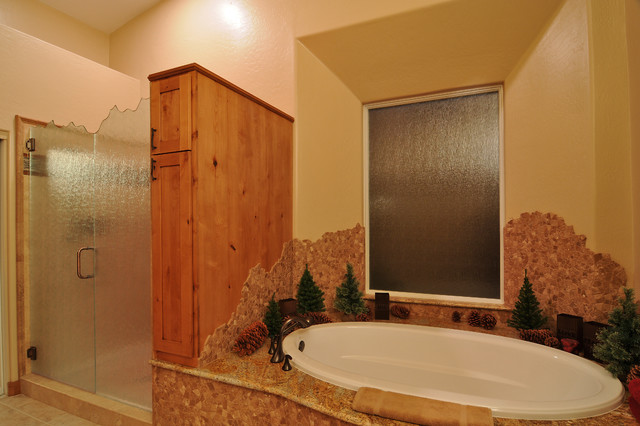 Remodeled bathrooms by cook remodeling for Bathroom remodel 63367