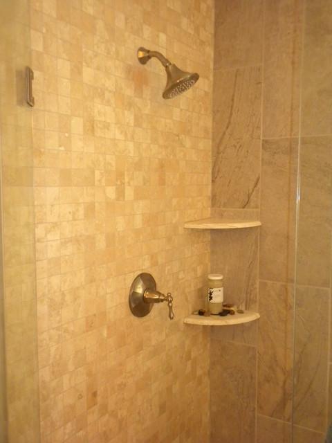 Remodeled Master Bath West Des Moines Traditional