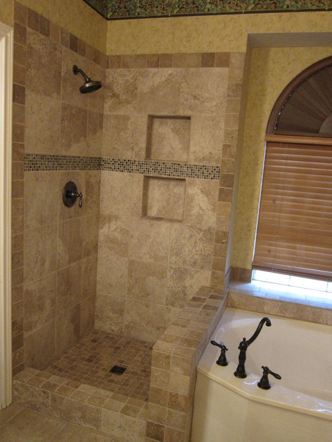 Remodeling Shower And Tub Surround Traditional Bathroom Dallas By The Floor Barn