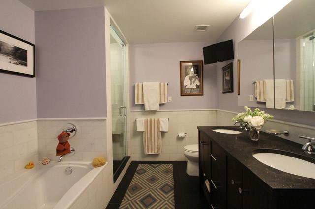 Renaissance in hell s kitchen transitional bathroom for Weinstein kitchen and bath