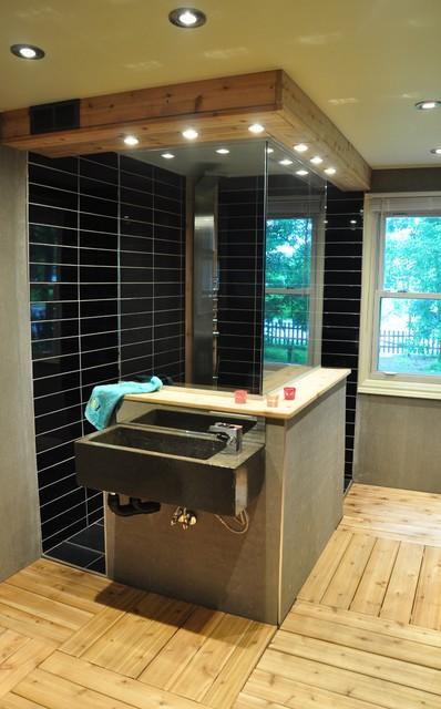 Reno salle de bains bath redo contemporary bathroom - Reno salle de bain ...