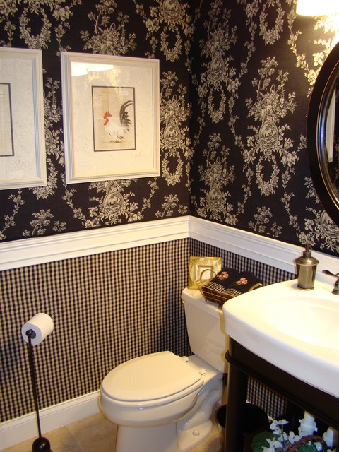 Renovated Half Bath   Traditional   Bathroom   tampa   by FoxHill