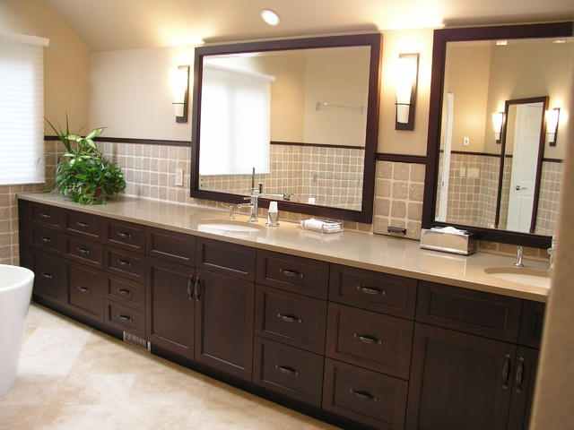 Renovated Master Bath contemporary bathroom