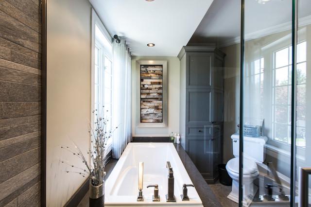 R 233 novation majeur salle de bain contemporary bathroom other