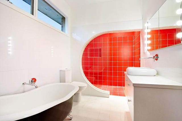 Renovation Melbourne North Contemporary Bathroom