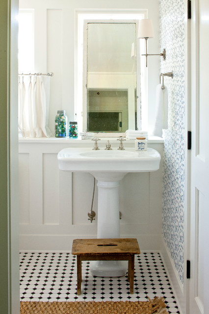 Renovation Senoia Farmhouse Farmhouse Bathroom Atlanta By - Historic bathroom remodel