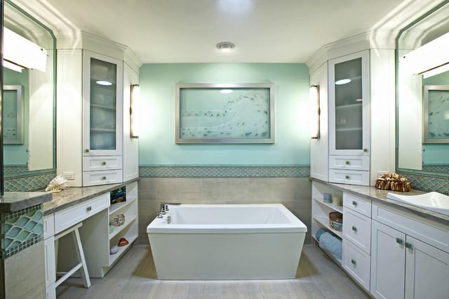 Renovations contemporary-bathroom