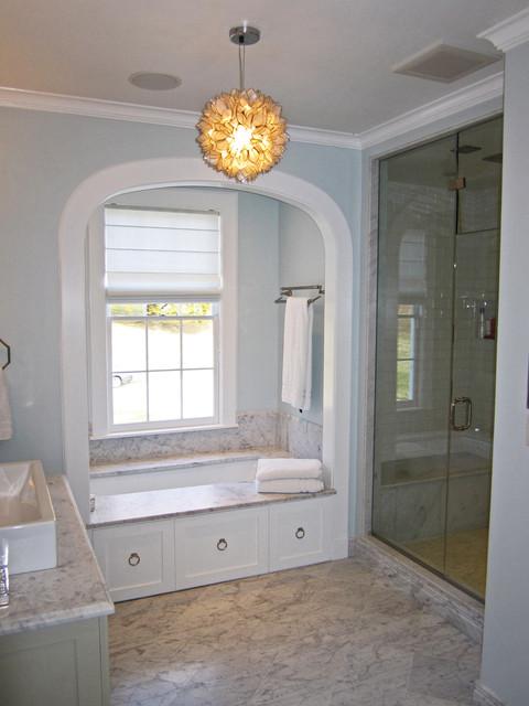 Renovations to a Grand Chappaqua Estate traditional-bathroom
