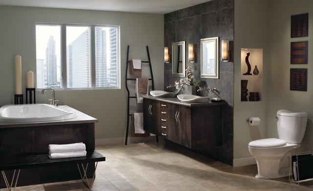 Reo Suite By Mansfield Contemporary Bathroom