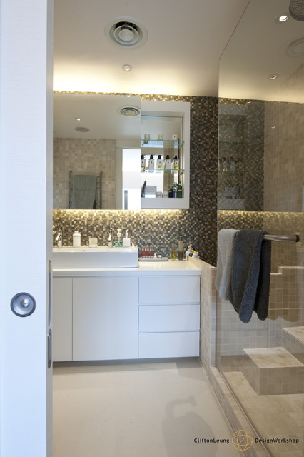 Repulsa bay garden the home gallery contemporary bathroom hong kong by clifton leung Kitchen design companies hong kong