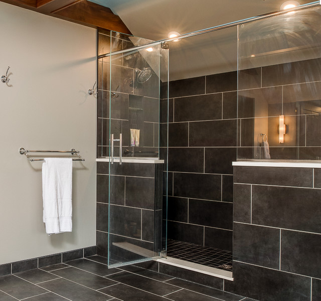 Reshaping A Victorian Manor Transitional Bathroom