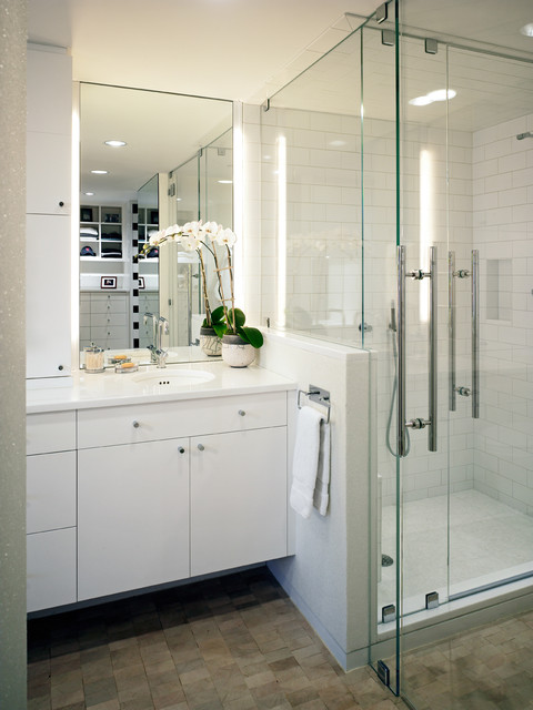 Residence at the Four Seasons Bath contemporary-bathroom