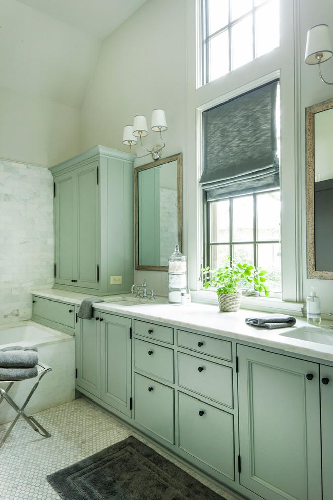residence, birmingham, AL - Farmhouse - Bathroom ...