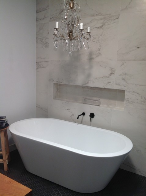 Residence Oakleigh Modern Bathroom Melbourne By