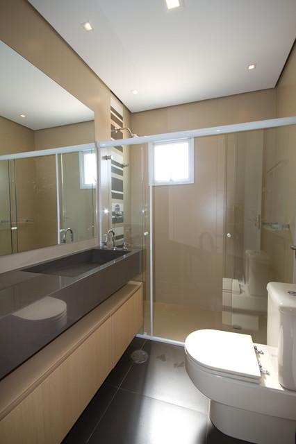 Residencia Tambore contemporary-bathroom