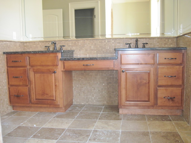 Residential Cabinetry/Millwork traditional-bathroom