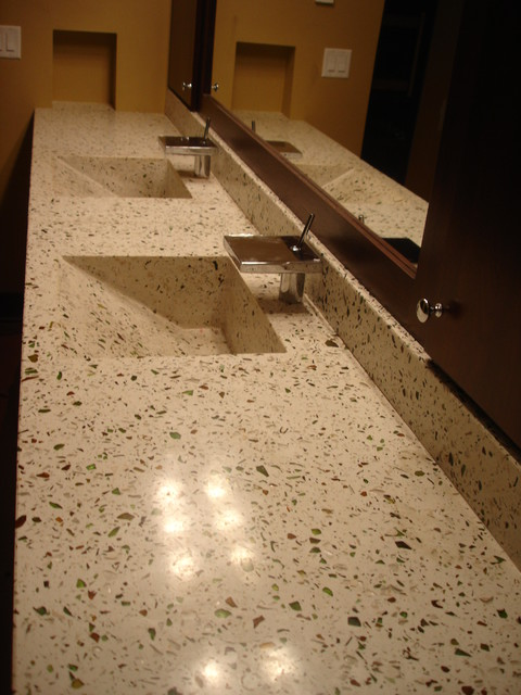 Residential Concrete Flooring Modern Bathroom Other Metro By National Concrete Polishing