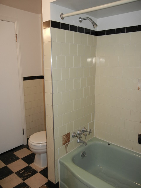 Residential design midcentury bathroom detroit by for Residential bathroom remodeling