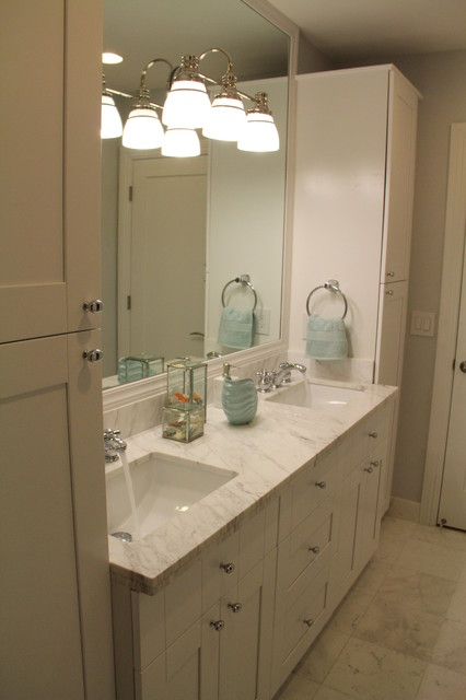Residential interior remodeling eclectic bathroom for Residential bathroom remodeling