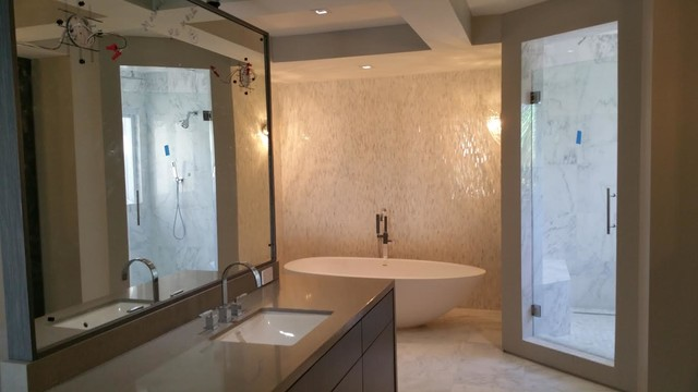 Residential Modern Bathroom Designs Hollywood Beach Fl Modern Bathroom Other By All