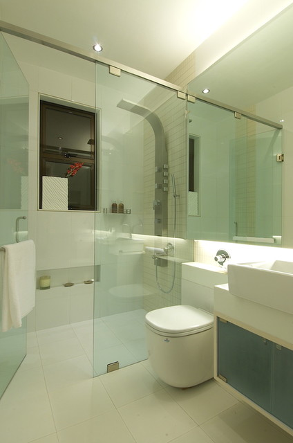 RESIDENTIAL PROJECT IN KANDIVALI, contemporary-bathroom