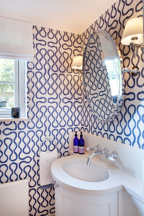 Love This Cloakroom Is This Wallpaper Squiggle By