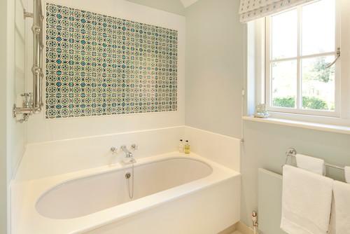 πλακάκια, μπάνιο, ιδέες, διακόσμηση, μπανιέρα,