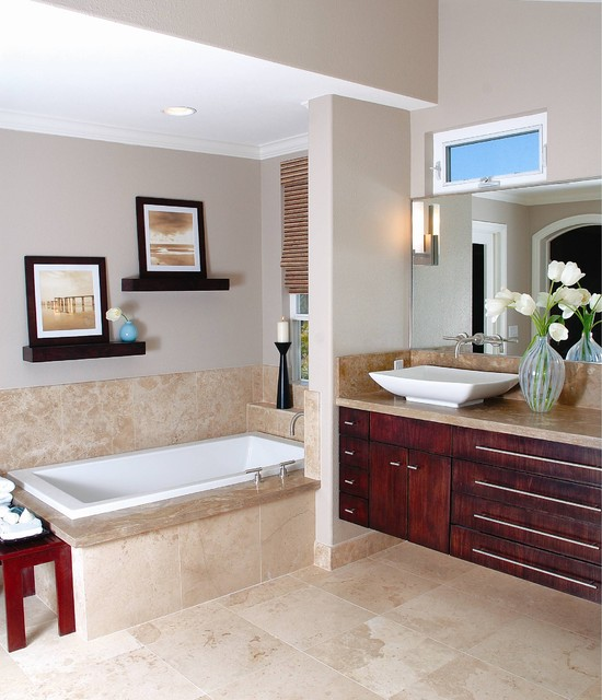 Residential spaces contemporary bathroom san diego by linda medina interior design - Interior design styles bathroom ...