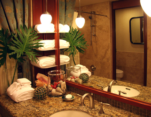Interior Designers Decorators Resort Hotel Tropical Bathroom