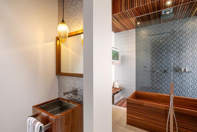 Resort Penthouse - Multi Residential Development contemporary-bathroom